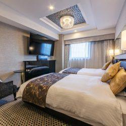 Fukuoka hotel APA Hotel Fukuoka Tenjin bedroom