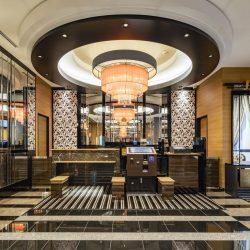Fukuoka hotel APA Hotel Fukuoka Tenjin lobby