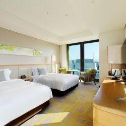 Fukuoka hotel Miyako Hotel Hakata bedroom
