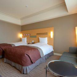 Hotel Okura Fukuoka bedroom