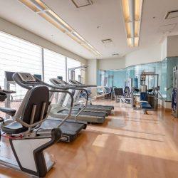 Hotel Okura Fukuoka gym