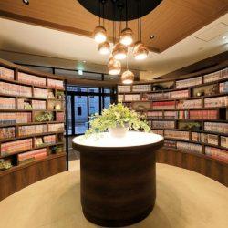 Quintessa Hotel Fukuoka Tenjin library