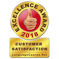 Winner of the Languagecourse.net customer satisfaction award