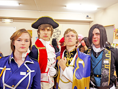 'Halloween 2013 cosplay event' from the web at 'http://genkijacs.com/images/2013cosplay.jpg'