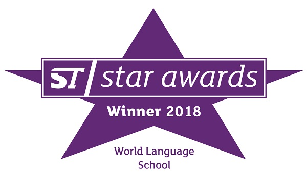 Winner of the Star World Language School Award 2016