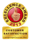 languagecourse.net customer satisfaction award