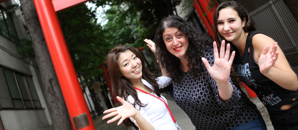 Japanese language school GenkiJACS Tokyo location - we love Japanese! @ Hanazono shrine