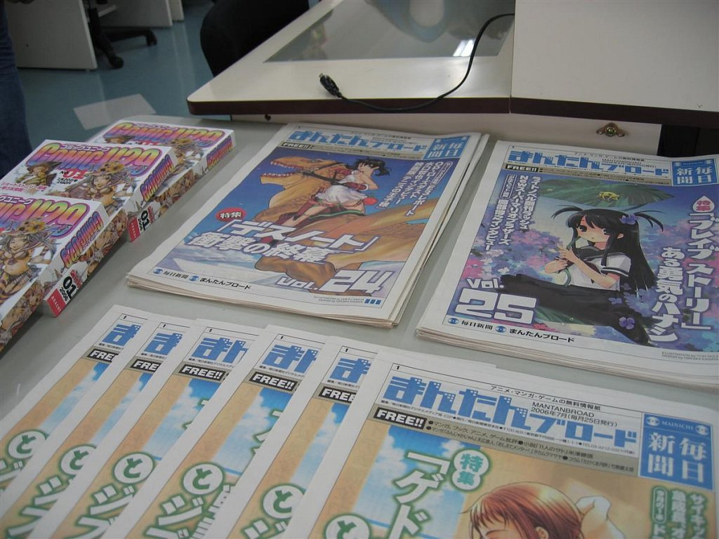 Anime school day trip
