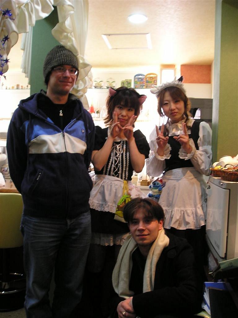 Maid cafe visit