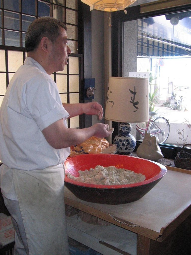 Soba making lesson