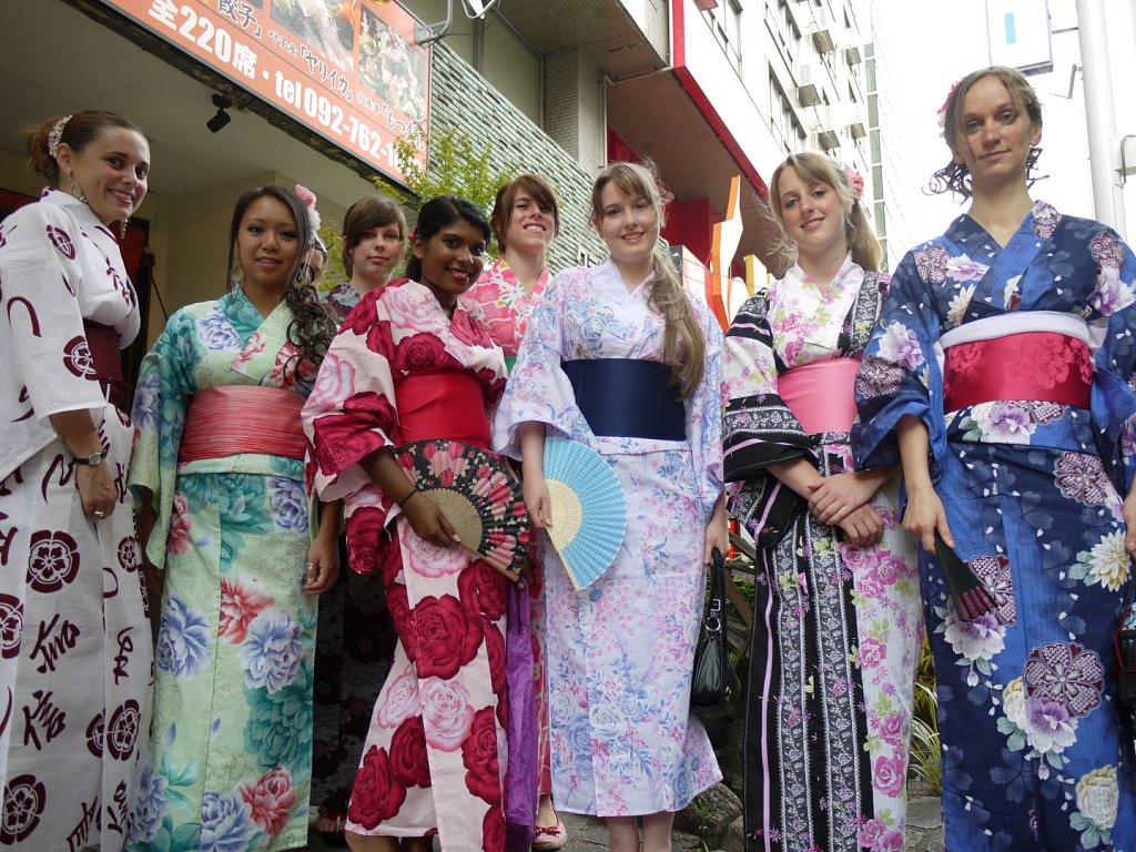 Yukata wearing