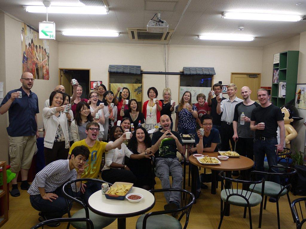 GenkiJACS Tokyo 1 year anniversary party