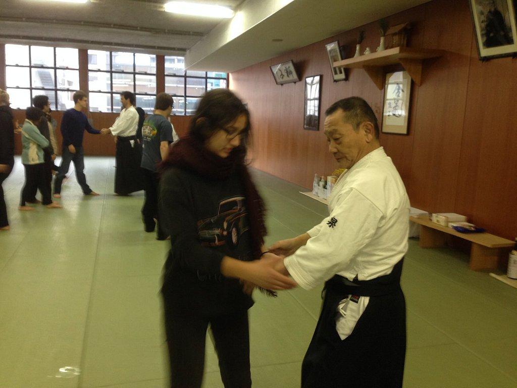 Aikido lesson 2015